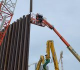 ELS works at Cental Kowloon East - Kai Tak East Sheet Pile Driving Works 1
