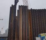 ELS works at Cental Kowloon East - Kai Tak East Sheet Pile Driving Works 2